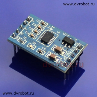 Arduino Nano GY-271 Digital Compass module OLED