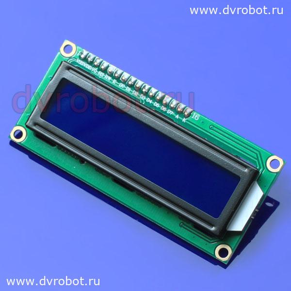 LCD - голубой IIC/I2C (ID:592)