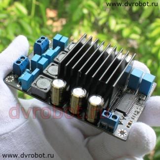 Усилитель звука 2 х 50 Вт - D (ID:1079)
