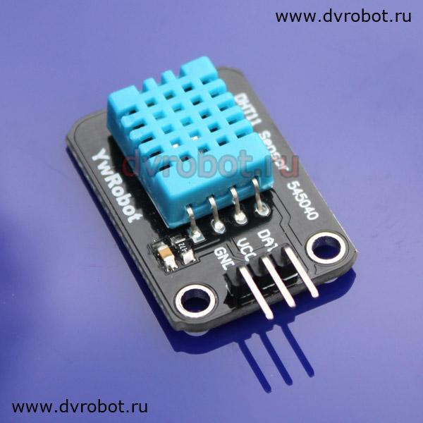 Датчик температуры и влажности DHT11 (ID:80)