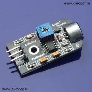 Аналоговый датчик звуковых колебаний (ID:179)
