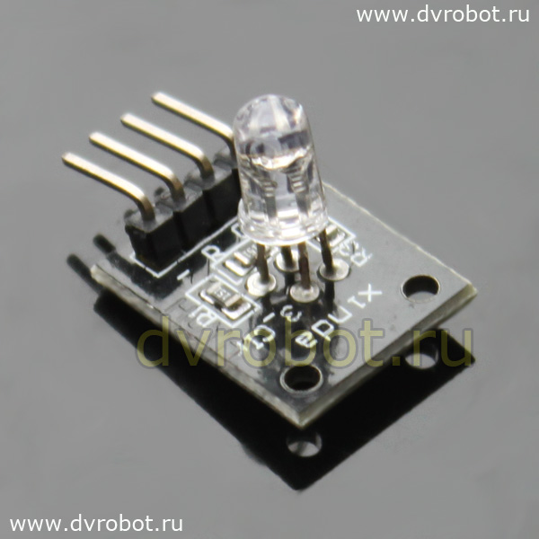 Модуль RGB LED  KY-016 - RB