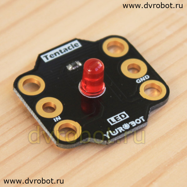 Индикатор BBC Micro:bit - 5mm LED - красный