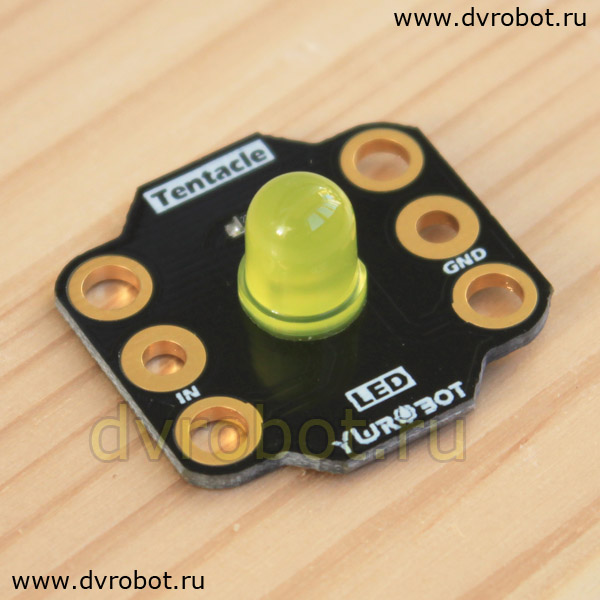 Индикатор BBC Micro:bit - 8mm LED - желтый